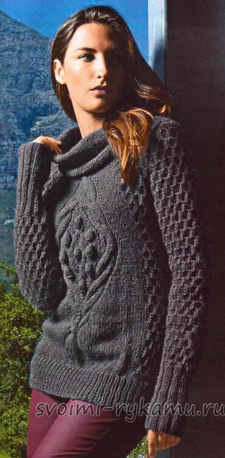 Женские джемпера и пуловеры