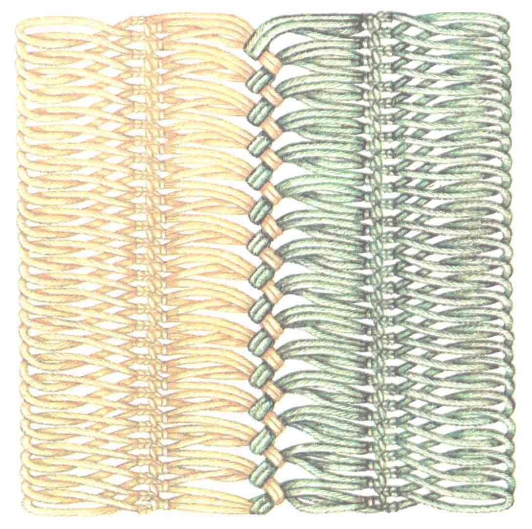 Другие виды рукоделия. Вязание на вилке 43